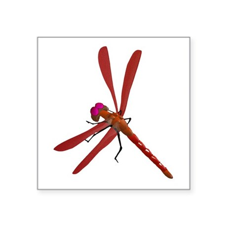 "dragonfly7b.png Square Sticker 3"" x 3"""