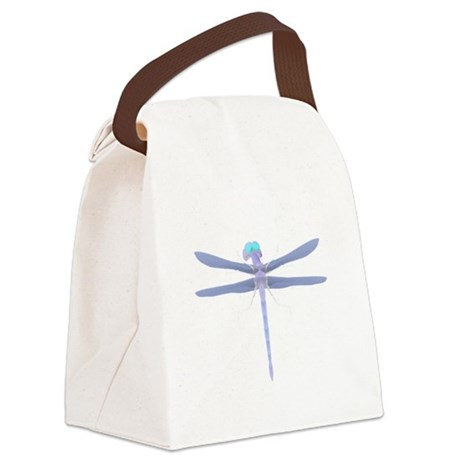 dragonfly8.png Canvas Lunch Bag