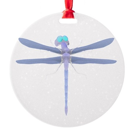 dragonfly8.png Round Ornament