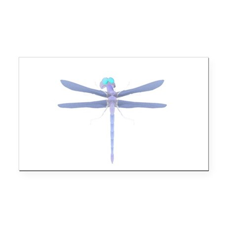 dragonfly8.png Rectangle Car Magnet
