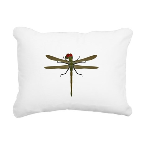 dragonfly8a.png Rectangular Canvas Pillow