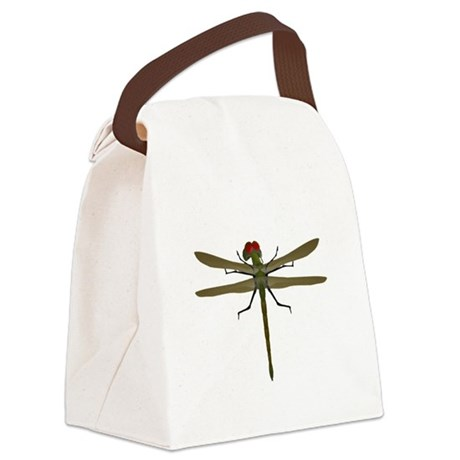 dragonfly8a.png Canvas Lunch Bag