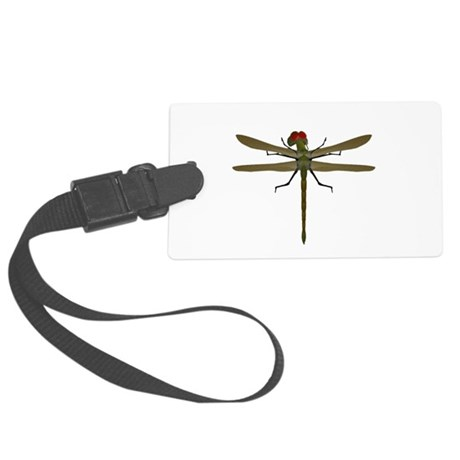 dragonfly8a.png Large Luggage Tag