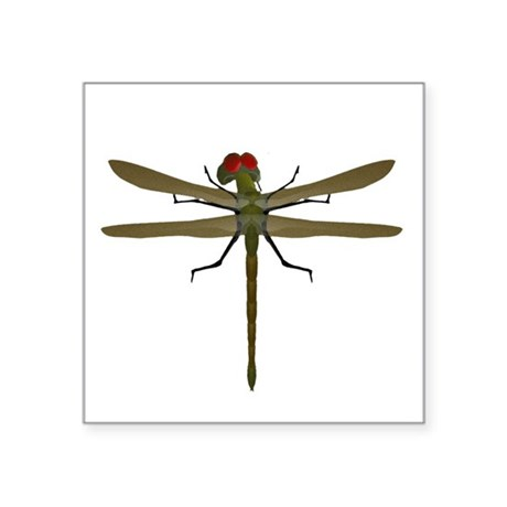 "dragonfly8a.png Square Sticker 3"" x 3"""
