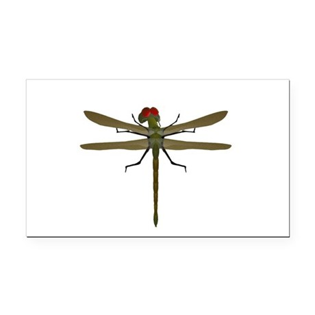 dragonfly8a.png Rectangle Car Magnet