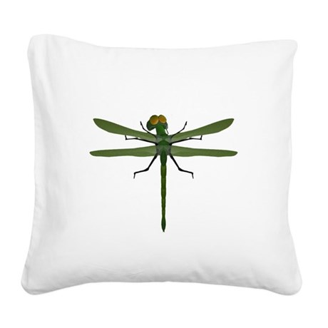 dragonfly8c.png Square Canvas Pillow