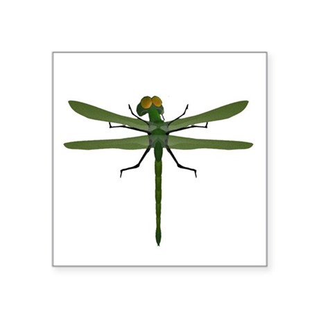 "dragonfly8c.png Square Sticker 3"" x 3"""