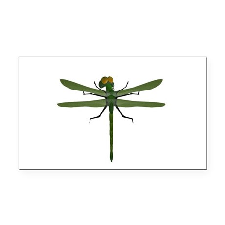 dragonfly8c.png Rectangle Car Magnet
