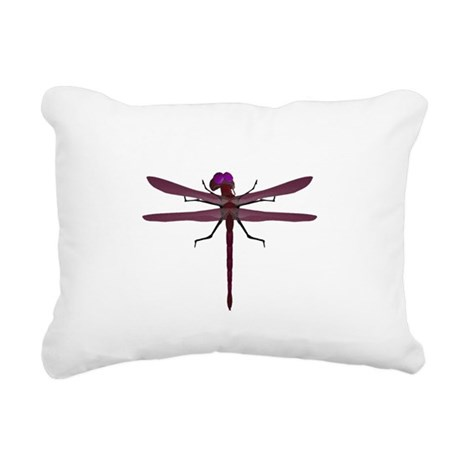 dragonfly8e.png Rectangular Canvas Pillow