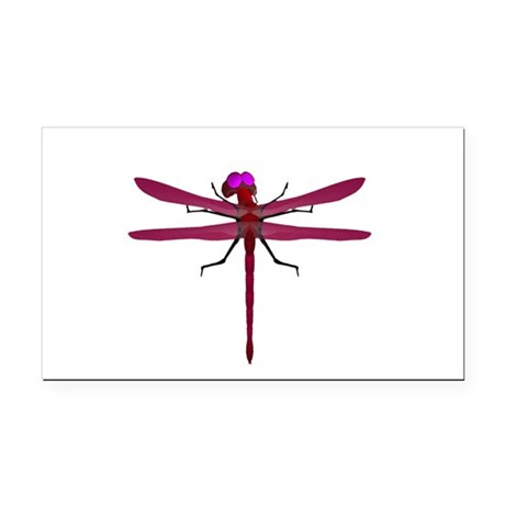 dragonfly8f.png Rectangle Car Magnet