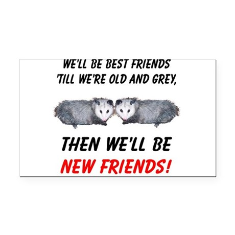 bestfriends5.png Rectangle Car Magnet