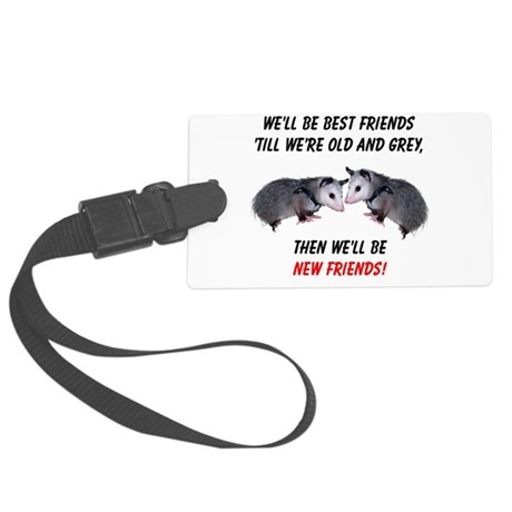 bestfriends4.png Large Luggage Tag