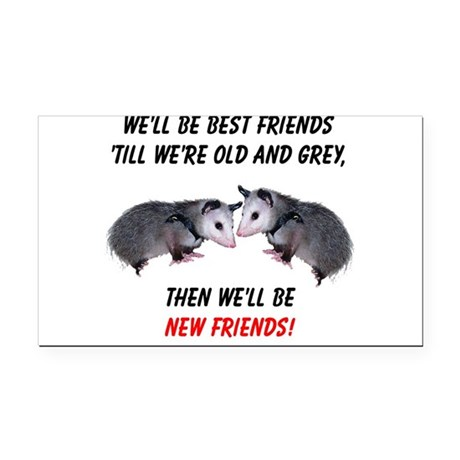 bestfriends4.png Rectangle Car Magnet