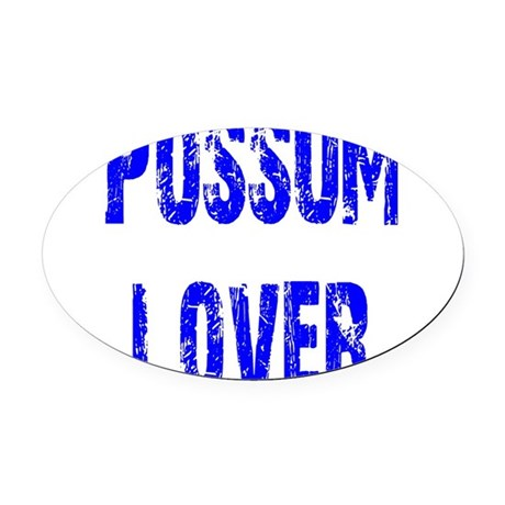 2-lover1.png Oval Car Magnet