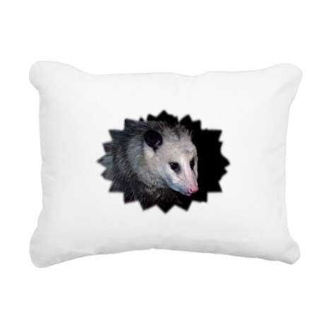 awesome possum Rectangular Canvas Pillow