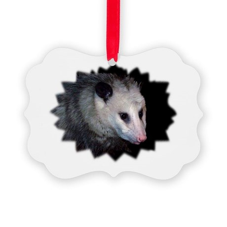 awesome possum Picture Ornament
