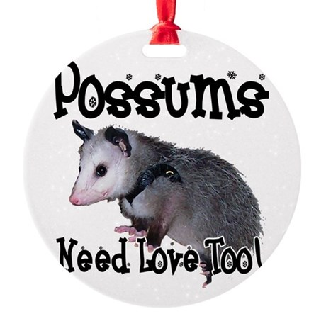 possum34.png Round Ornament