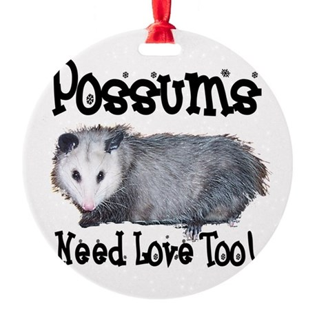 possum33.png Round Ornament