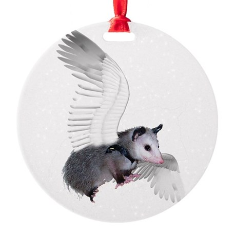 possum15ang.png Round Ornament