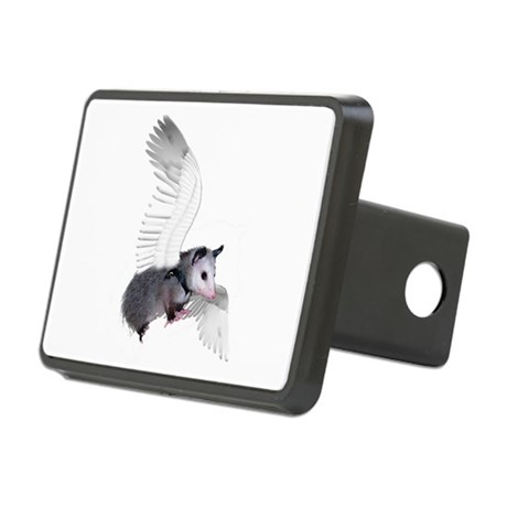 possum15ang.png Rectangular Hitch Cover
