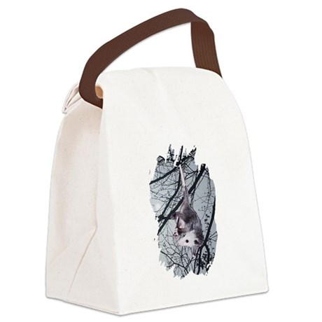 Possum Moonlight Canvas Lunch Bag