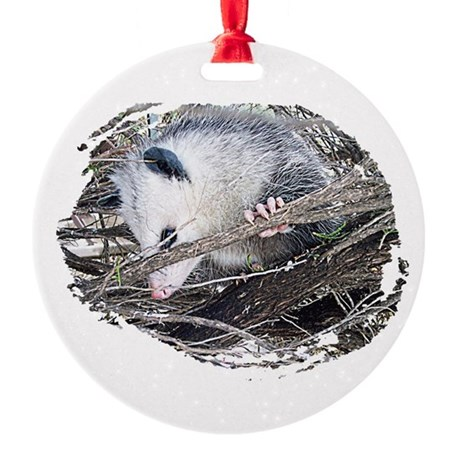 possum Round Ornament