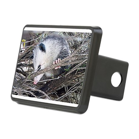 possum Rectangular Hitch Cover