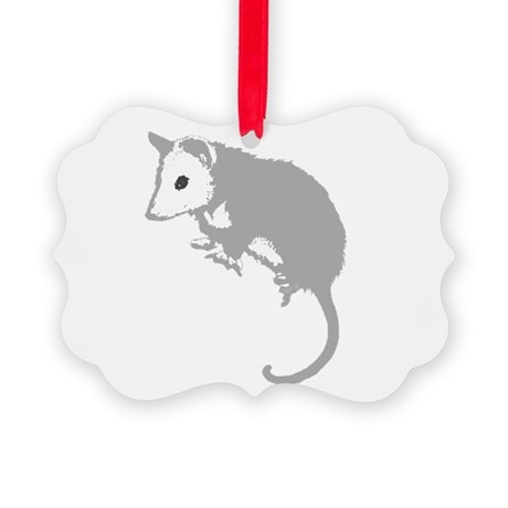possumsil2a.png Picture Ornament