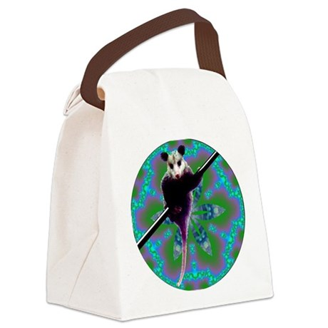 Opossum Canvas Lunch Bag