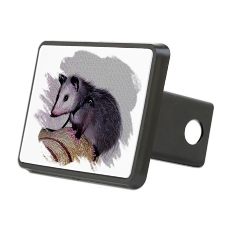 Baby Possum Rectangular Hitch Cover