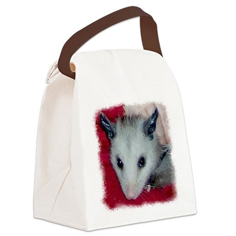 Little Possum Canvas Lunch Bag