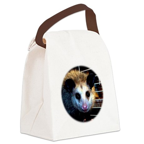 The Opossum Canvas Lunch Bag