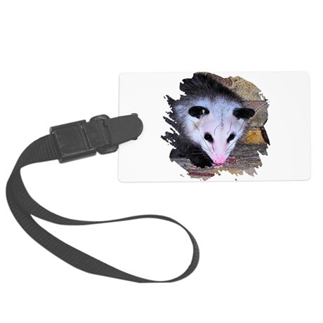 possum Large Luggage Tag