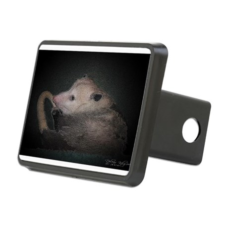 Sleepy Possum Rectangular Hitch Cover