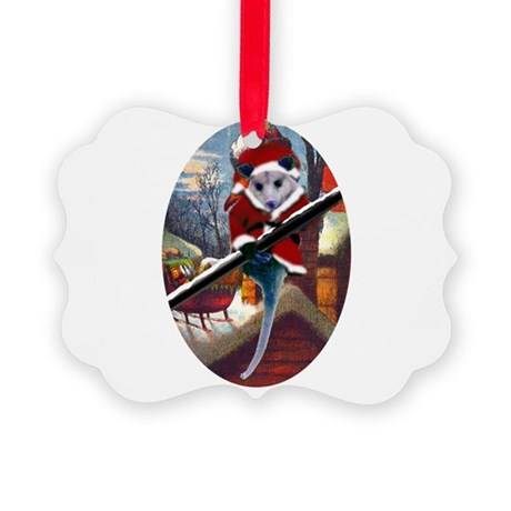 santa7atall.jpg Picture Ornament