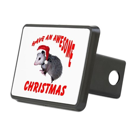santaspossum2.png Rectangular Hitch Cover