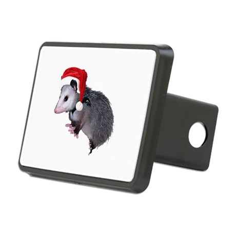 santaspossum.png Rectangular Hitch Cover