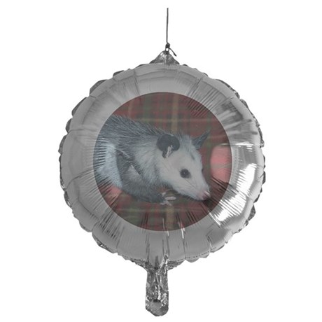 Baby Opossum Mylar Balloon