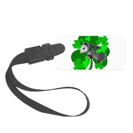 shamrockposs.png Small Luggage Tag