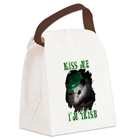 Possum Irish Canvas Lunch Bag