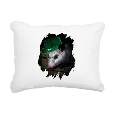 Irish Possum Rectangular Canvas Pillow