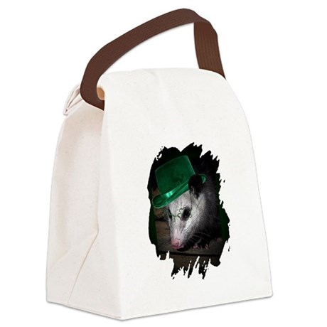 Irish Possum Canvas Lunch Bag