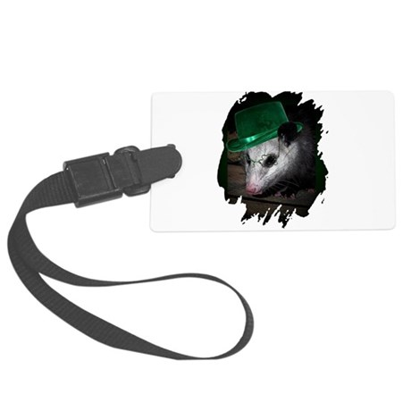 Irish Possum Large Luggage Tag