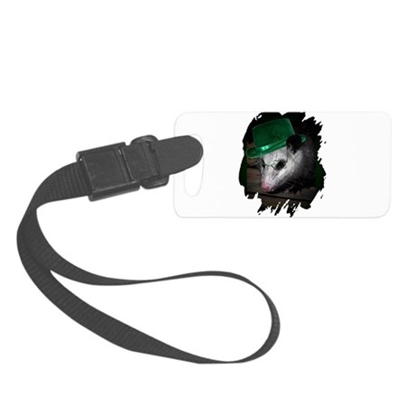 Irish Possum Small Luggage Tag
