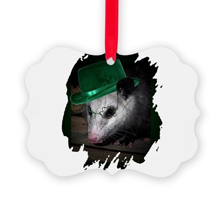 Irish Possum Picture Ornament