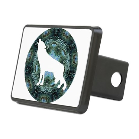wolf4b.png Rectangular Hitch Cover