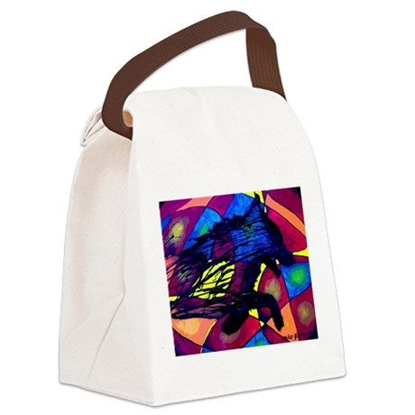 Spirit of the Wolf Canvas Lunch Bag