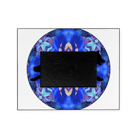 Kaleidoscope Running Wolf Picture Frame