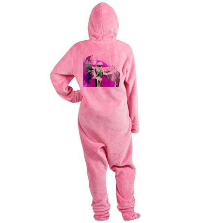 angelf.png Footed Pajamas