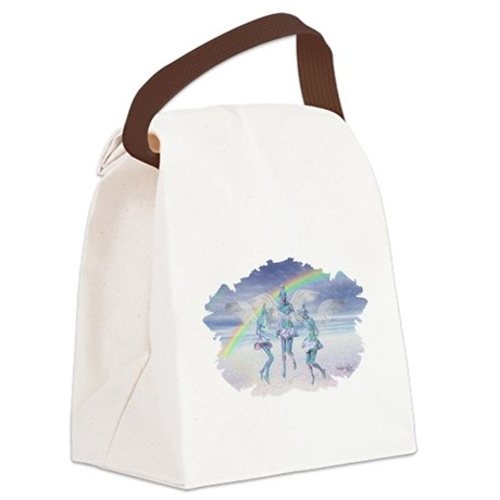 angels50lg.jpg Canvas Lunch Bag